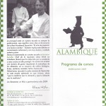 2009 Alambique Program